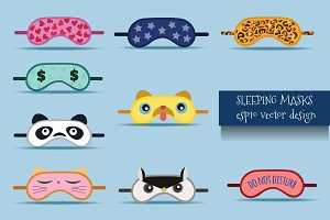 Creative Sleeping Masks