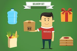 Delivery set