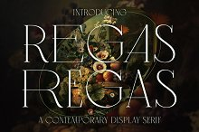 Regas Classic Display Serif Font by  in Fonts