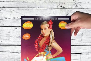 Club Party Time Flyer Template V03