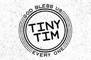 Tiny Tim Font Family