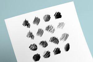 16 Pencil Textures