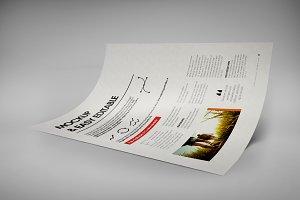 A4 Creative Flyer Mock-Up 9