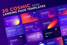 COSMIC Landing Page Vol. 1 by  in Websites