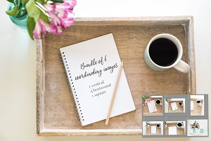 Styled Stock Photos & Journal Mockup