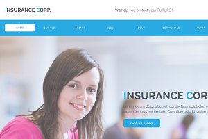 Insurance Corp Muse Template
