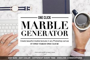One Click Marble Texture Generator