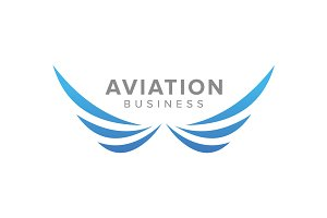 Aviation Business Logo