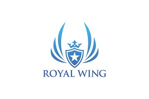 Luxury Royal Wing Logo