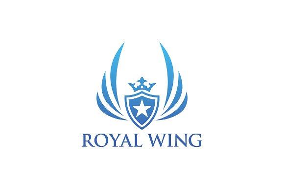 Luxury Royal Wing Logo
