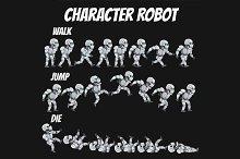 Character Sprite Robot .0