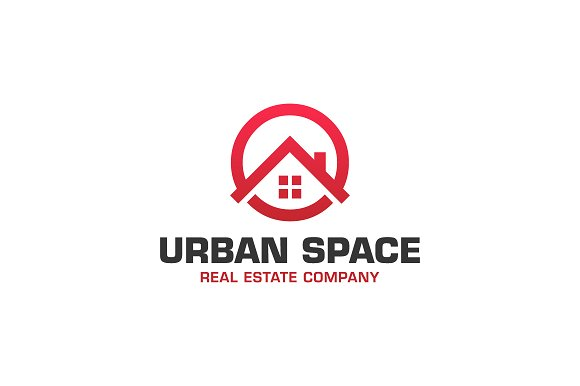 Urban Space Realty in Logo Templates