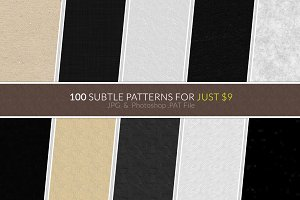 100 Subtle Patterns