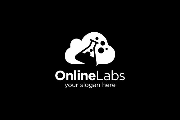 Online Lab Test Logo in Logo Templates - product preview 3