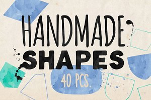 Hand drawn vector shapes - II.