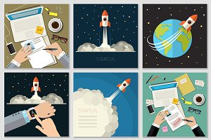 Set of startup concepts