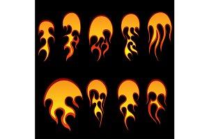 Fireballs set