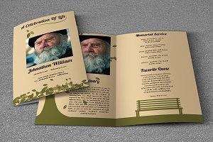 Funeral Program Template-V450