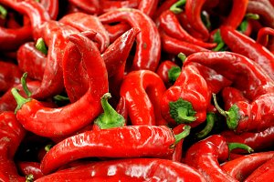 Red chili pepper background