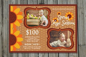 Spring Mini Session Template-V249