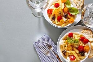 summer light pasta