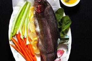 raw fresh fish