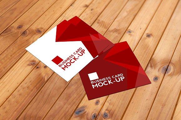 Square business card mockup set product mockups creative market reheart Choice Image