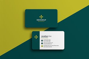 Corporate Business Card #22