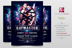 Gay Master Flyer | Poster