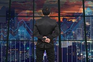 Business financial concept