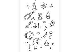 Alchemy symbols