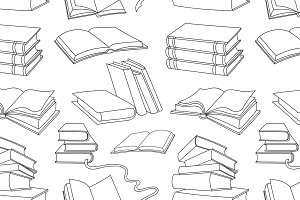 Books pattern