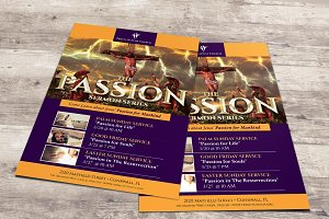 Passion Flyer Poster Photoshop