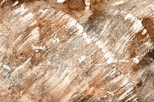 Abstract Acrylic Texture - Sepia