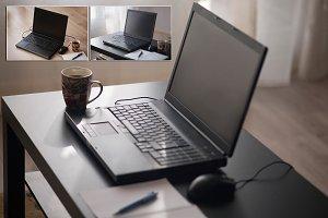 Coffee & Laptop,Workspace (3 photos)