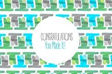 Congratulations Card Patterns