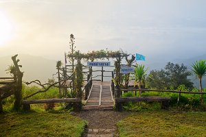 Viewpoint at Ang Khang mountains