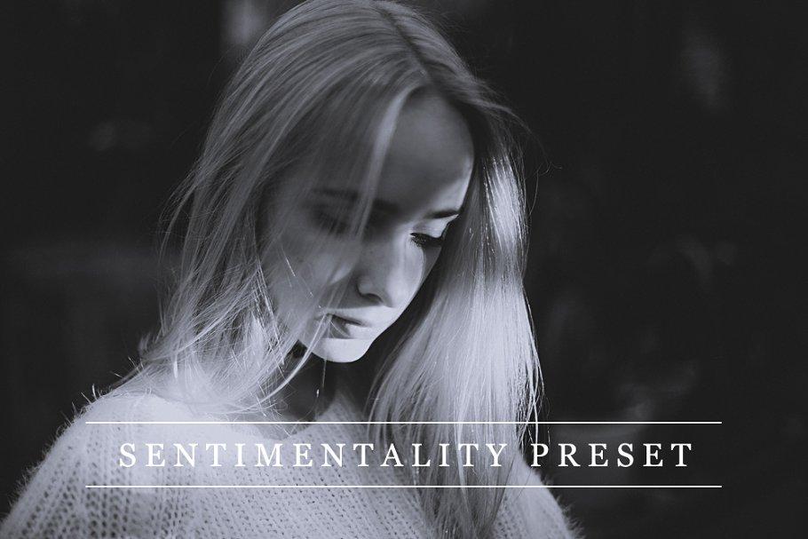 Sentimentality - Lightroom preset ~ Lightroom Presets ~ Creative Market