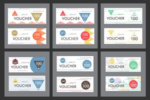 Template gift voucher Vol.1