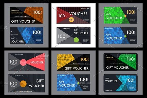Template gift voucher Vol.2 - Business Cards