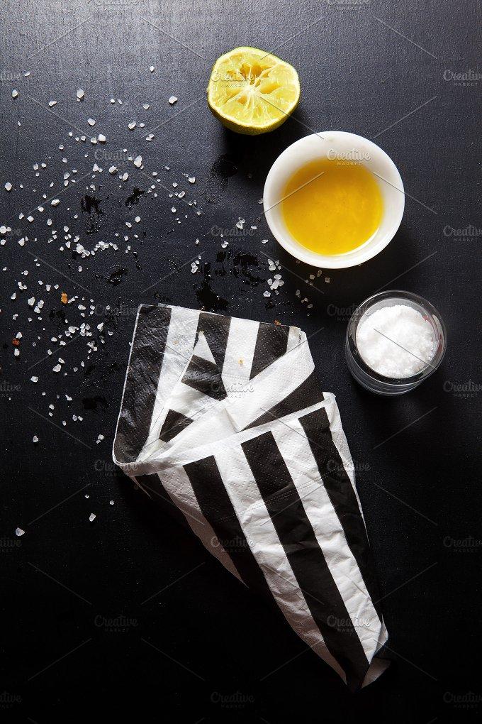 fried snacks. empty packaging - Food & Drink
