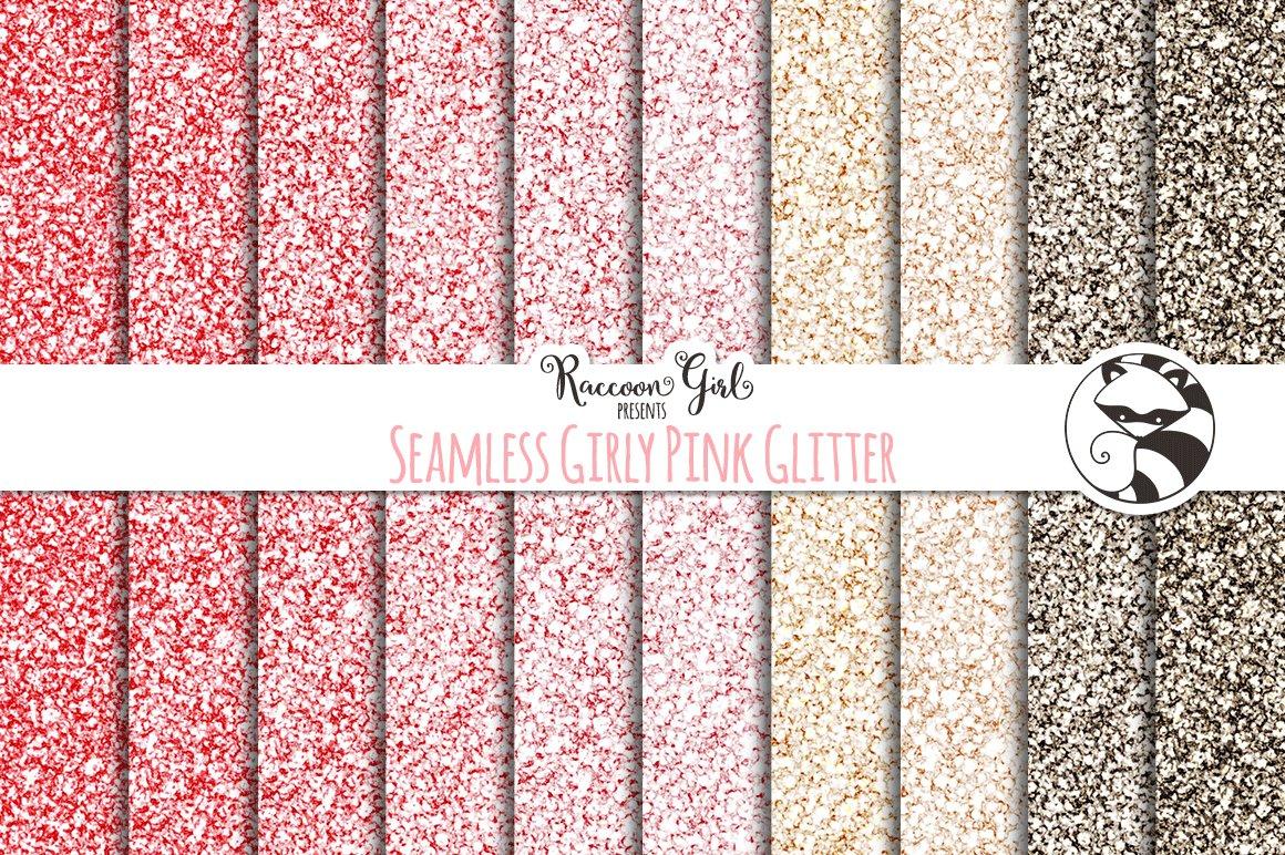 Seamless Girly Pink Glitter Texture Textures Creative Market