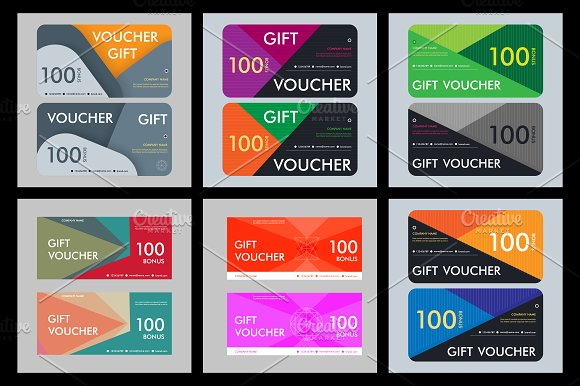 Template gift voucher Vol.3 - Business Cards