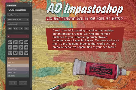 AD Impastoshop - Thick Paint Machine