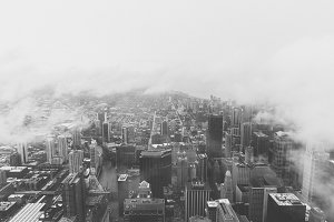 Chicago from The Willis Tower