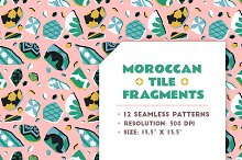 Moroccan Tile Seamless Pattern by  in Graphics