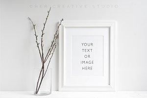 Minimalist Picture frame Mockup