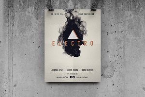 Electro Music - Flyer Template