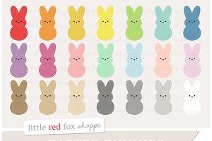 Marshmallow Bunny Clipart