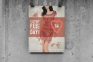 Valentines Day - Flyer Template